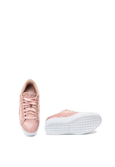 Puma Vikky flatform sneakers cipő szatén hatással női