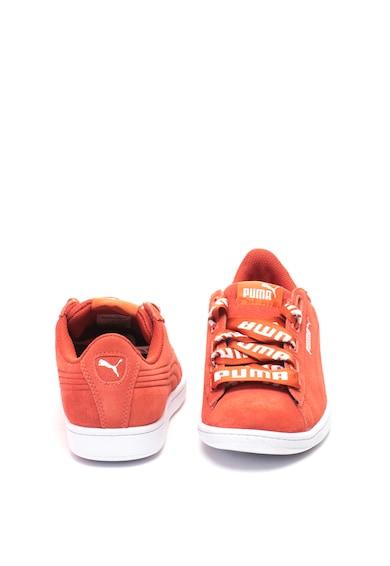 Puma Vikky nyersbőr cipő mintás fűzővel női