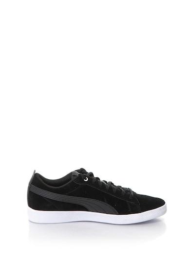 Puma Smash v2 nyersbőr sneakers cipő női