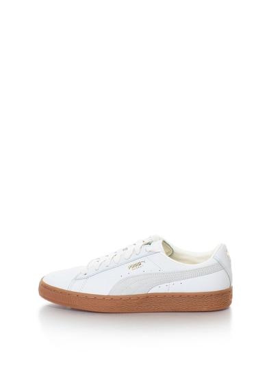 Puma Унисекс кожени спортни обувки Basket Classic Gum Deluxe Жени