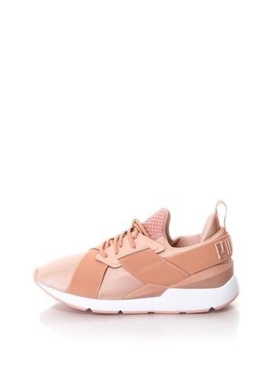 e54a006a1776 Muse bebújós szatén sneakers cipő - Puma (365534-01)
