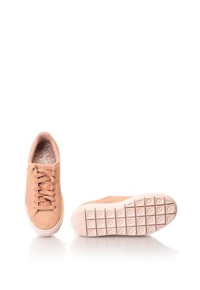 Puma Flatform nyersbőr sneakers cipő női