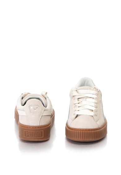 Puma Pantofi sport de piele intoarsa cu platforma Bubble Femei