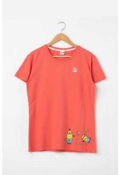 Puma Тениска Minions с тематична шарка Момичета