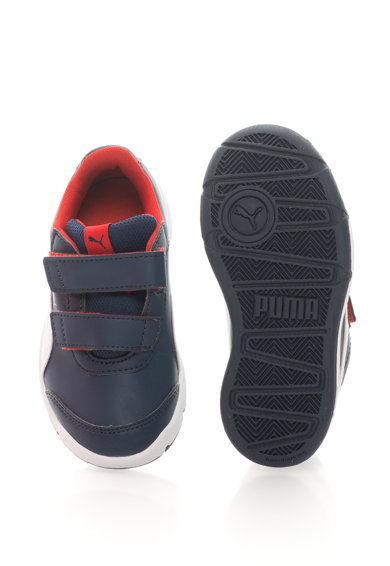 Puma Stepfleex 2 SL V PS műbőr sneakers cipő tépőzárral Fiú
