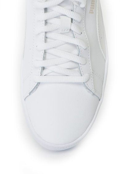 Puma Pantofi sport de piele cu logo Smash v2 Femei