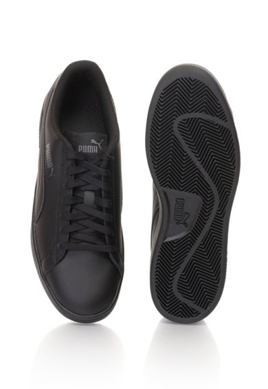 Puma Унисекс спортни обувки Smash v2 с кожени детайли Жени