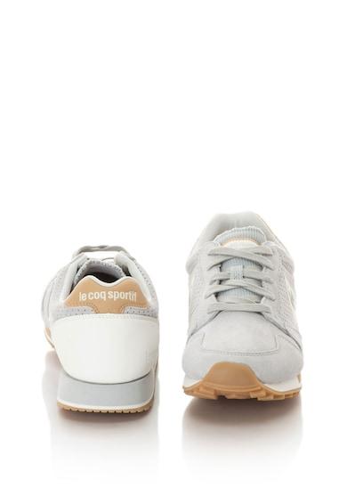 Le Coq Sportif Uniszex Omega Premium nyersbőr és műbőr sneakers cipő női