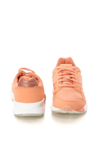 Le Coq Sportif Pantofi sport cu aspect metalizat si aplicatie logo Omega X W Femei
