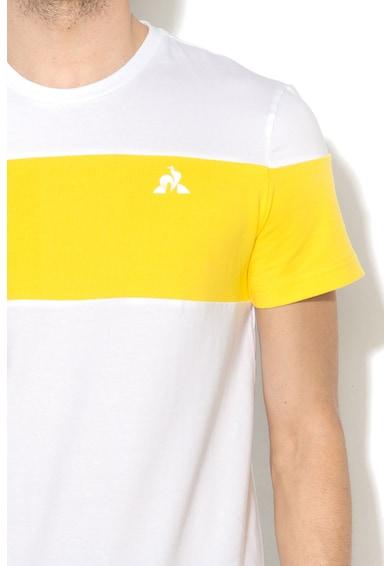 Le Coq Sportif Тениска Ess Saison N°1 с цветен блок Мъже