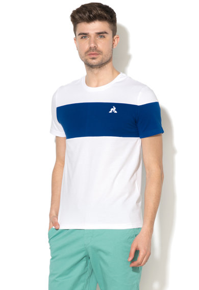 Le Coq Sportif Тениска ESS SAISON N°1 с овално деколте Мъже