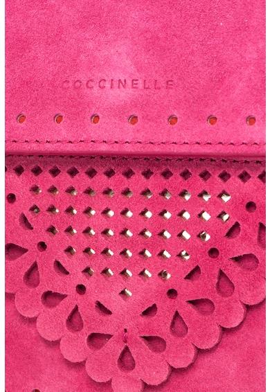 COCCINELLE LACE keresztpántos nyersbőr táska női