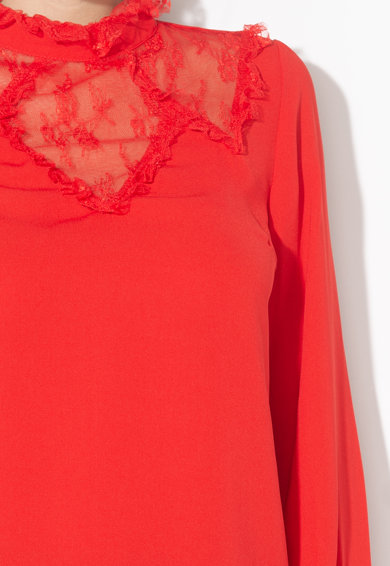 Zee Lane Collection Bluza cu garnituri de dantela Femei