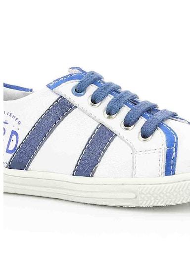 Mod8 kids Pantofi sport de piele cu imprimeu logo Fete