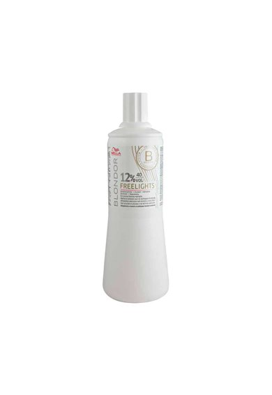 Wella Professionals Emulsie oxidant  Blondor Freelights 12% 40 vol., 1000 ml Femei