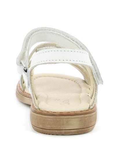 Aster kids Sandale de piele cu benzi velcro Tchak Fete