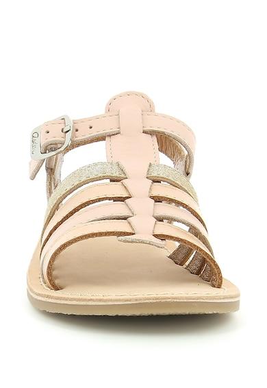 Aster kids Sandale de piele cu model Carly Fete