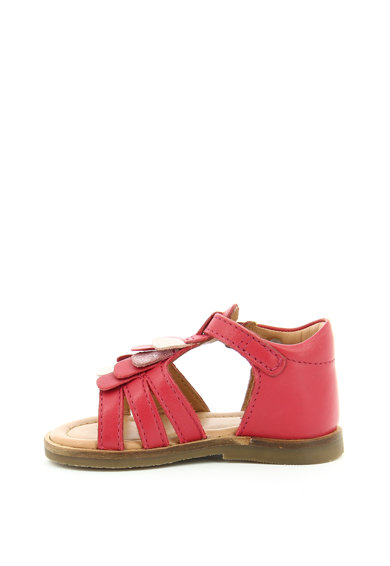 Aster kids Sandale de piele cu aplicatii discrete pe partea din fata Noemia Fete