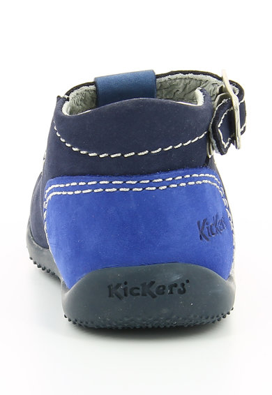 Kickers kids Pantofi casual de piele cu decupaje BONBEK Baieti