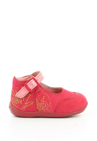 Kickers kids Pantofi casual de piele Bowgli Fete