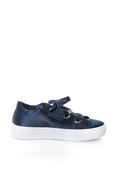 Bronx Pantofi sport flatform de satin Femei
