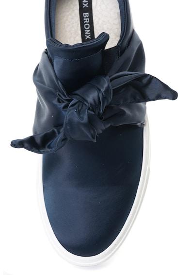 Bronx Pantofi sport slip-on de satin cu detaliu funda Femei