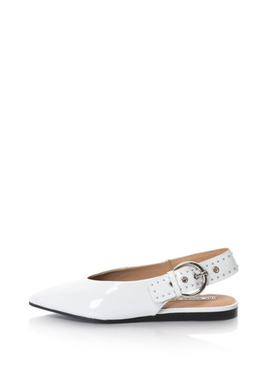 Bronx Pantofi slingback de piele lacuita, cu varf ascutit Femei