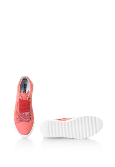 Bronx Pantofi sport de piele nabuc Femei