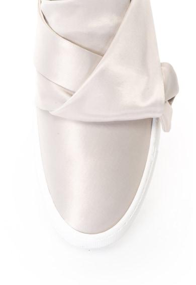 Bronx Pantofi sport slip-on de satin, cu detaliu rasucit Femei