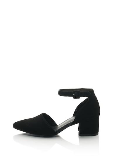 Vagabond Shoemakers Велурени обувки D'Orsay Mya Жени
