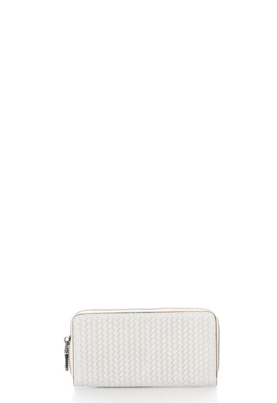 Chiara Canotti Кожено портмоне със сплетен дизайн Жени