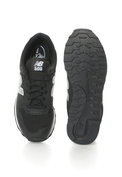 New Balance Спортни обувки 500 от еко велур с лого Мъже