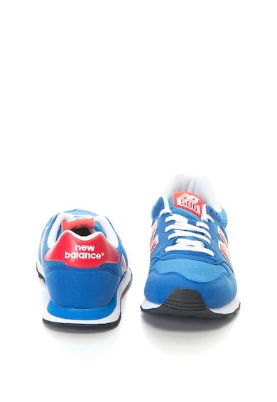 New Balance 500 könnyű súlyú sneakers cipő nyersbőr hatású műbőr anyagbetétekkel férfi