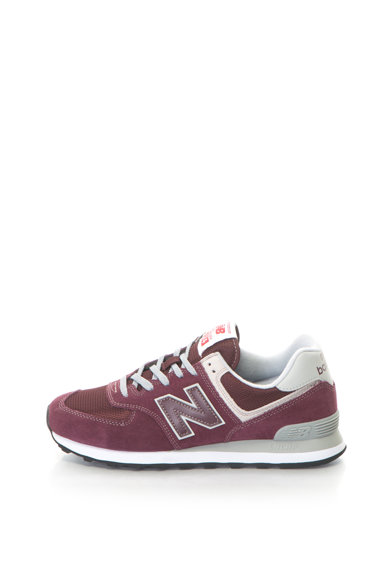 New Balance 574 Classic nyersbőr sneakers cipő logórátéttel férfi