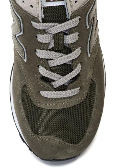 New Balance 574 nyersbőr sneakers hálós betétekkel férfi
