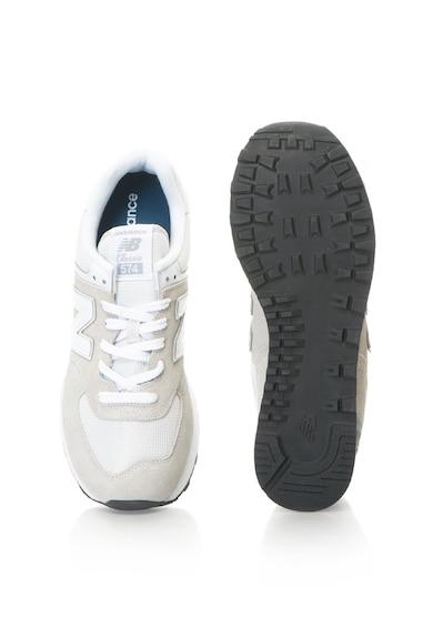 New Balance 574 sneakers cipő nyersbőr anyagbetétekkel férfi