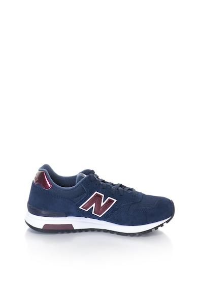 New Balance Pantofi sport de piele intoarsa cu insertii de plasa 565 Femei