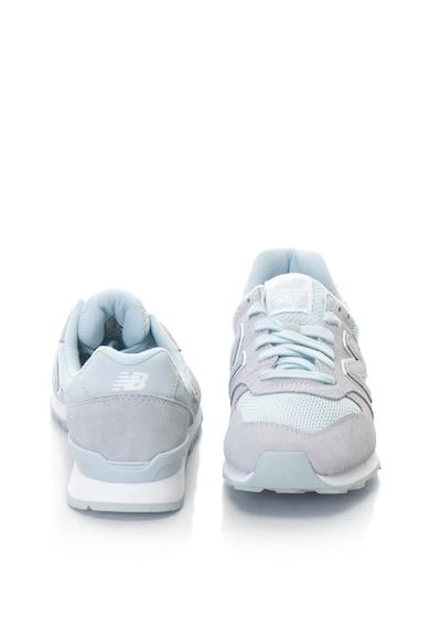 New Balance Pantofi sport de piele intoarsa si material textil 996 Femei