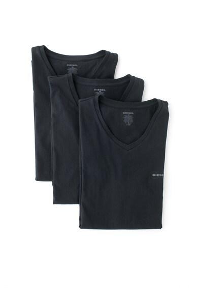 Diesel Set de tricouri de casa, cu decolteu in V - 3 piese Barbati