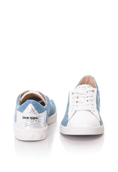 Diesel Pantofi sport cu segmente de denim S-Olstice Femei