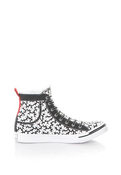 Diesel Pantofi sport mid-high slip-on, Unisex Femei