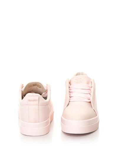 Amanda flatform cipő bőrszegélyekkel - Gant (16538438-G584-SILVER-PINK) ac73e49821