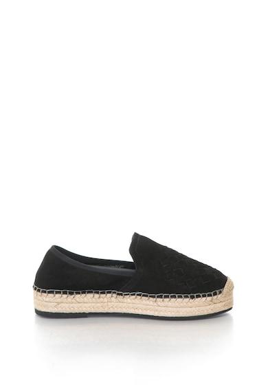 Gant Capri platformos, nubuk bőr espadrilles cipő női