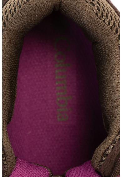 Columbia Ghete impermeabili de piele intoarsa si material textil, pentru drumetii Redmond™ Femei