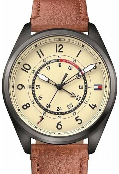 Tommy Hilfiger Часовник с кожена каишка Мъже