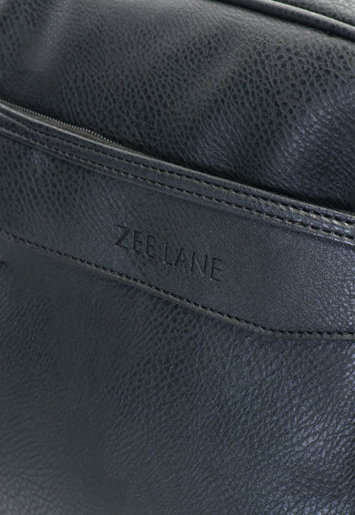 Zee Lane Geanta messenger din piele sintetica cu compartiment pentru laptop Barbati