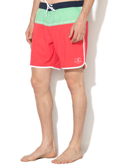 Guess Color block mintás board short férfi