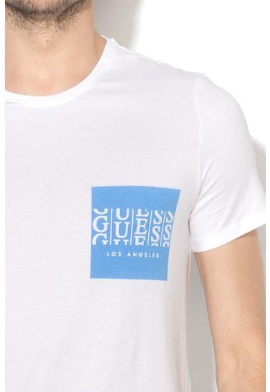 Guess Super slim fit póló otthoni viseletre férfi