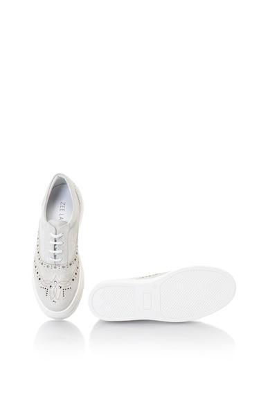 Zee Lane Nyersbőr flatform cipő fényes hatással női