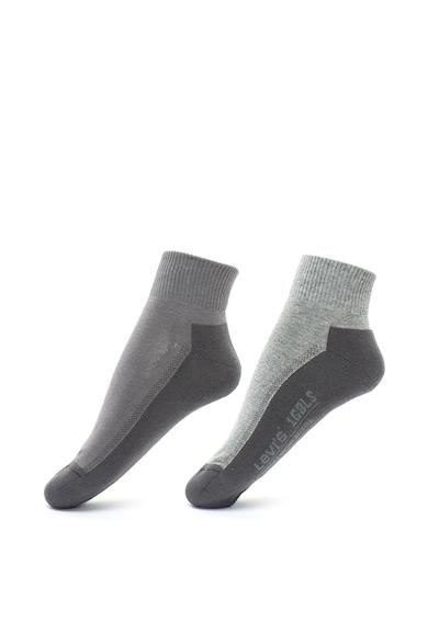 Levi's Unisex 168 rövid párnázott zokni szett - 2 pár női